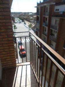 Piso en Venta Ejea calle Cervantes Balcon