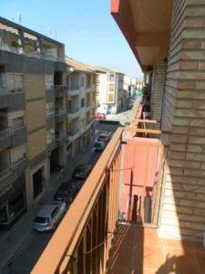 Piso en Venta Ejea calle Cervantes Balcon Exterior