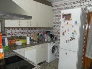 Amplio Piso en venta en Ejea con calefaccion y Permuta Cocina