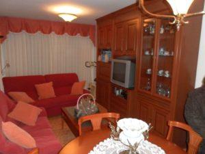 Venta piso 3 habitaciones calefacción de gas 2 garajes en Ejea - Salon