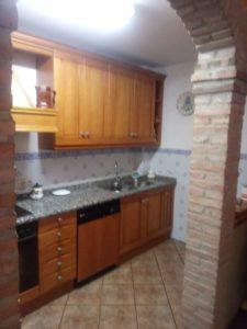 Casa en venta en Ejea con bodega y amueblada Cocina Bodega- Fincas Ejea