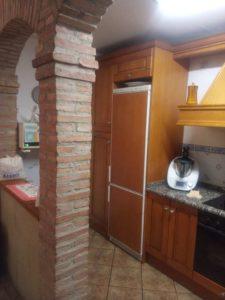 Casa en venta en Ejea con bodega y amueblada Cocina bodega 1- Fincas Ejea
