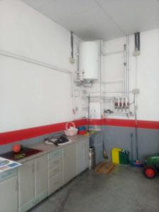 Venta Piso con cochera centrico amplio garaje en Ejea Cocina Cochera- Fincas Ejea.jpg