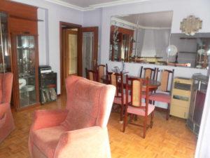 Venta Piso centrico 4 habitaciones en Ejea Salon 2 - Fincas Ejea