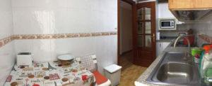 Venta piso centrico Ejea amueblado calefaccion aire acondicionado Cocina-Fincas Ejea