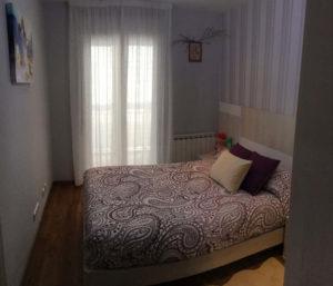 Venta piso centrico Ejea amueblado calefaccion aire acondicionado Dormitorio 2-Fincas Ejea