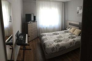 Venta piso centrico Ejea amueblado calefaccion aire acondicionado Dormitorio -Fincas Ejea