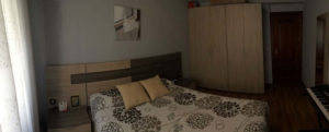 Venta piso centrico Ejea amueblado calefaccion aire acondicionado Dormitorio3 -Fincas Ejea