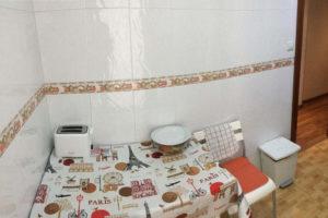 Venta piso centrico Ejea amueblado calefaccion aire acondicionado Mesa Cocina-Fincas Ejea