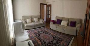 Venta piso centrico Ejea amueblado calefaccion aire acondicionado Salon 2-Fincas Ejea